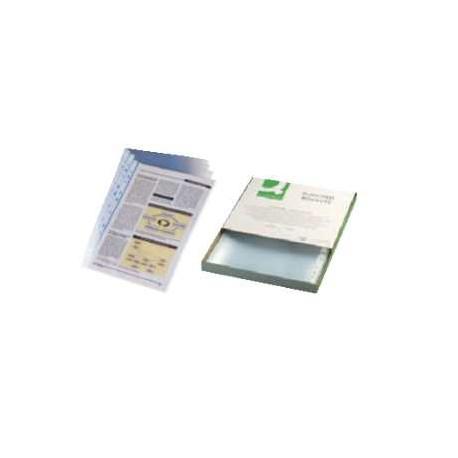 Boite de 100 pochettes perforées A4 - PP standard - lisse