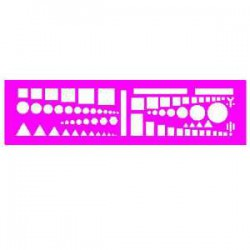 Normographe - Trace symboles Tactique OTAN - Minerva