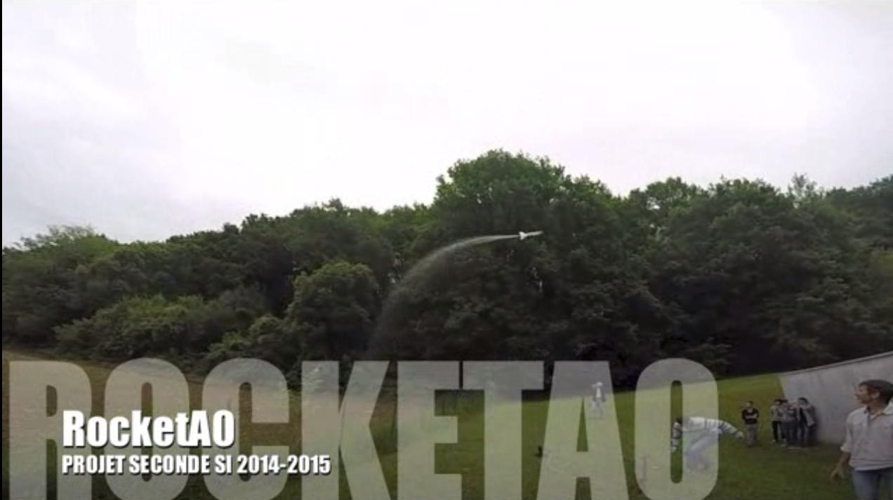 [fusée à eau 2015]
