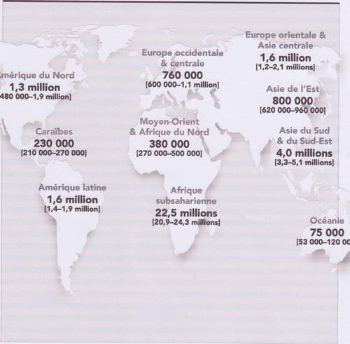 nombre des pays africains